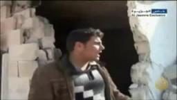 الجيش السوري يحرق ويدمر المنازل في ريف إدلب