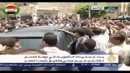 د. محمد مرسي يدلي بصوته في إعادة انتخابات الرئاسة