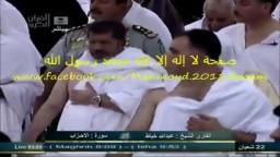 الرئيس محمد مرسى يؤدى مناسك العمرة