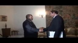 لقاء الرئيس  بممثلي الائتلاف العام للعسكريين المتقاعدين