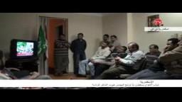 شباب الاخوان يستقبلون نبأ ترشح المهندس خيرت الشاطر للرئاسة
