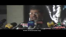 كلمة د/ مرسى فى مؤتمر تدشين حملته الانتخابية