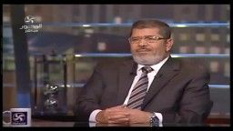 مرسي- لن يتميز المرشد أو الإخوان عن باقي المصريين