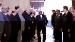استقبال الرئيس محمد مرسي للرئيس السوداني؟