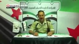 الجيش السوري الحر يهنئ مصر برئاسة محمد مرسي
