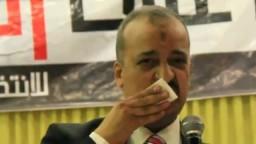 تأثر د.البلتاجي عند الحديث عن د.مرسي.