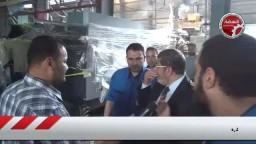 د.محمد مرسى فى زيارة لمصانع توشيبا العربى