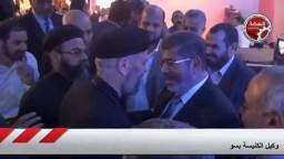 وكيل كنيسة سوهاج-نأمل نجاح مرسى لنرى مشروع النهضة واقع