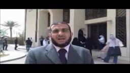 أمين عام رابطة تلاميذ القرضاوي يصوت لصالح مرسي -