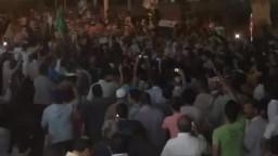 عشرات الآلاف يستقبلون د. مرسى بنادى بنى سويف