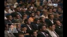 الدكتور مرسي يشكر أبوتريكة علي تأييده ويداعب جمهوره