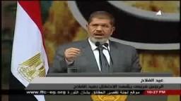 الرئيس مرسي: أسقطنا الديون عن الفلاحين