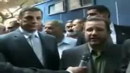 تفقد رئيس الوزراء لقوات الشرطة.امام السفارة الأمريكية