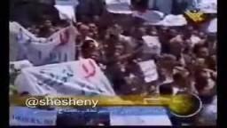 تسجيل نادر جديد لمرسي من مظاهرة حاشدة أيام مبارك