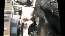 شام درعا احراق الممتلكات الخاصة من قبل عصابات الاسد 26 4