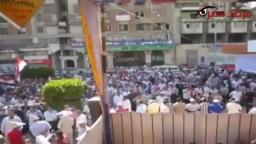 جمعة حماية الثورة فى ميدان المحافظة بالمنصورة.