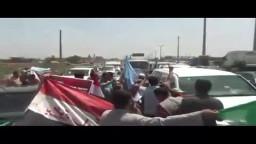 استقبال د.مرسى و م.الشاطر على مداخل المنصورة