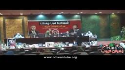كلمة الفنان وجدى العربى لدعم د/ مرسى لرئاسة الجمهورية