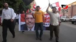 مسيرة مؤيدة لـ«مرسي» بشوارع الدقي