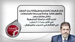 تعرف على الدكتور محمد مرسي .. رئيساً للجمهورية