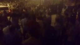 بعد احتجازه اربع ساعات الشيخ حافظ سلامة يخرج من مسجد النور