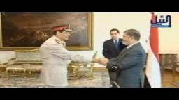 الرئيس مرسي يكرم طنطاوي وعنان