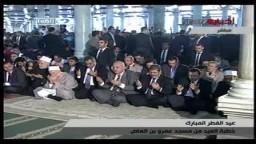 دعاوي الإمام للرئيس مرسي في صلاة عيد الفطر