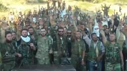 قسم عناصر الجيش الحر كتيبة جند سيدنا محمد 2012 07 13