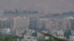دمشق كفرسوسة اشتباكات بين الجيش الحر والنظامى
