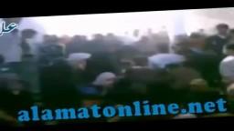 سوريا - نساء التريمسة وأطفالها يودعون أزواجهم وآباءهم