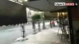 أول فيديو لمعارك الجيش الحر في دمشق ضد عصابات الأسد