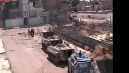 تلبيسة جميع دبابات المدينة تحت سيطرة الجيش السوري الحر