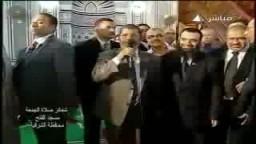 كلمة الرئيس مرسى عقب صلاة الجمعة 1 رمضان