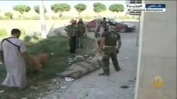سيطرة الجيش السوري الحر على معبر تل أبيض مع تركيا