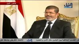 الرئيس محمد مرسي يجيب - متي يستريح الرئيس ؟؟