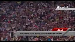 مرسي- لا أقبل أبدا أن يأكل المصريون من الربا