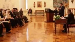 لقاء السيد الرئيس مع ممثلى جمعيات متحدى الإعاقة