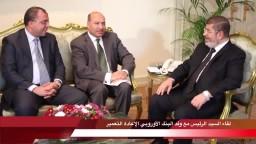 جانب من نشاط الرئيس مرسي  30-10-2012