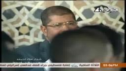 من أسيوط: مرسي يحث المصريين على العمل والاجتهاد