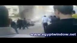 سحب الشهيد أحمد الجعبري من سيارته لحظة اغتياله
