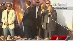 مرسي : أعمل من أجل المصريين