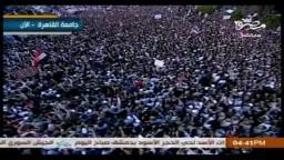 صفوت حجازي : هتافات مليونية الشرعية والشريعة