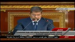 الرئيس مرسي: سندعم الثورة السورية لتحقيق أهدافها