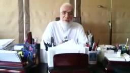 عمرعبد الكافي يشكر العريفي على خطبته (فضائل مصر)