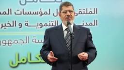 الرئيس مرسي : التمكين للعمل المجتمعي
