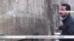 حملة تجميل الحوائط بالمعمورة احتفالا بذكرى 25 يناير