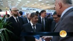 جولة مع الرئيس مرسي في معرض الكتاب