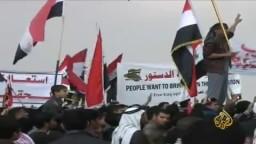 احتشاد عشرات آلاف بالعراق ضد المالكي