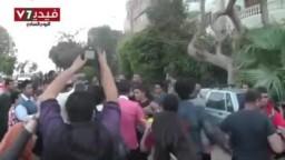 اعتداء الصحفيين على شباب الاخوان أمام مكتب الارشاد