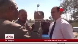 افتتاح اكبر شونة لتجميع القمح ببرج العرب